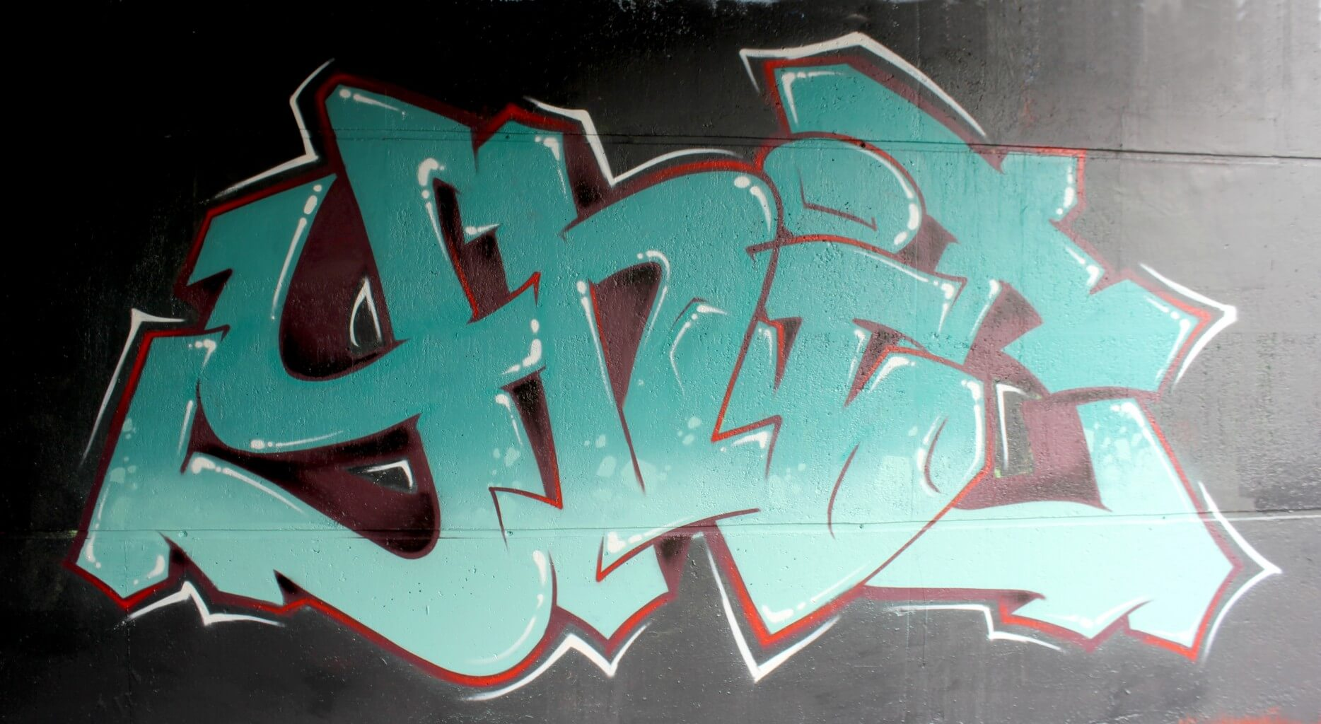 """Graff pour la compagny de danse Salsa """"Ynit"""""""