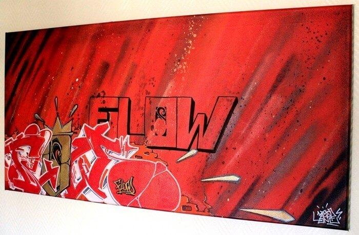 """toile kzed """"flow"""""""