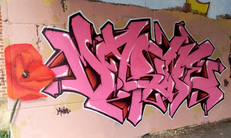 """Marine"" by Kzed axdkteam amiens graffiti"