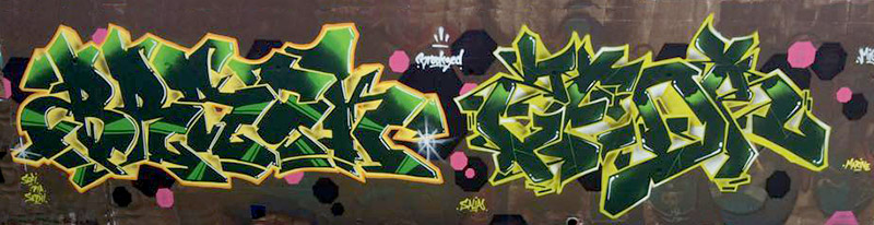 Kzed_amiens_graffitit_decoration_jaune-vert_feat_brack