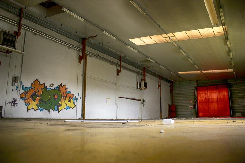 kzed axdk amiens graffiti - Salle Blanche