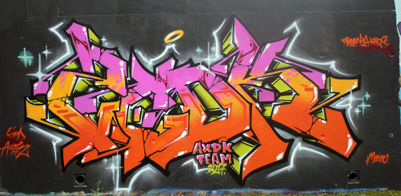 Kzed-Zedk-Axdk-Amiens-Graffiti-DecorationRose-Jaune-Orange