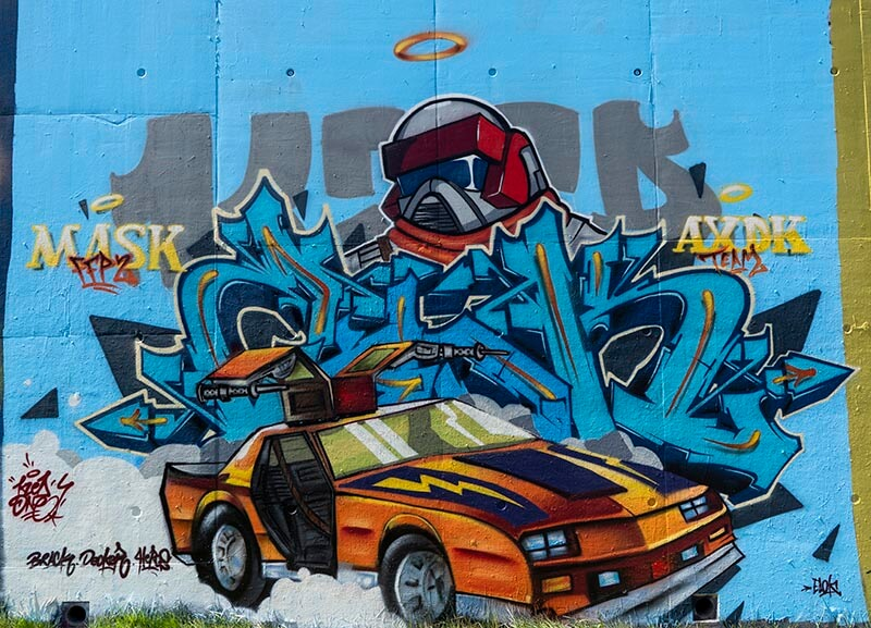 kzed-amiens-graffiti-decoration-kzed-Chevaliers-MASK-Thunderhawk-Matt-Trakker