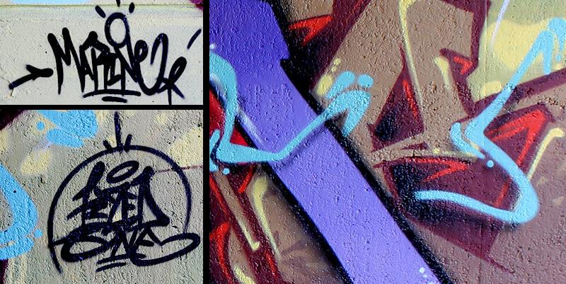 peinture graffiti de kzed axdk team du 07 septembre 2013 à amiens