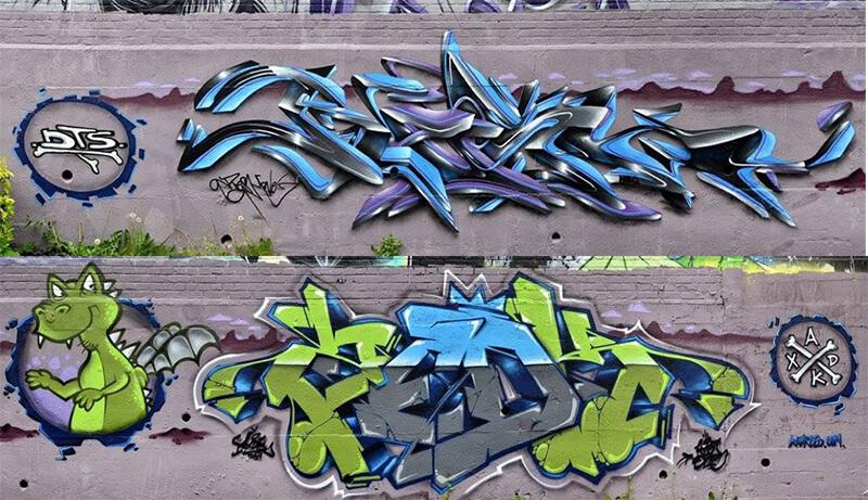 Dino_Kzed_feat_resh_Amiens_graffiti_decoration