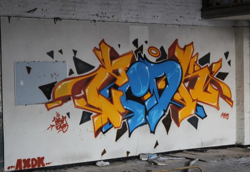 kzed zedk axdk amiens graffiti La Cosra