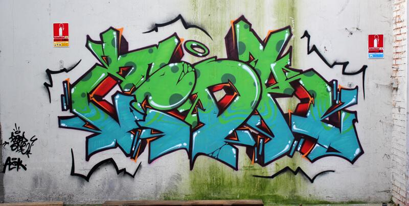 kzed amiens graffiti streetart decoration axdk