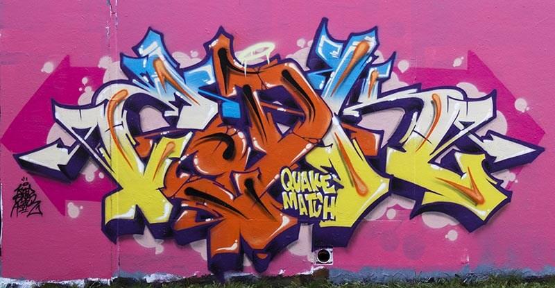 Graffiti de Kzed - Amiens - Graffiti - Décoration