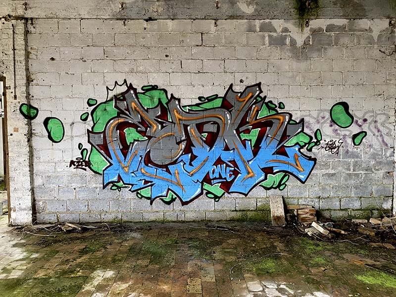 Graffiti de Kzed - amiens Graffiti