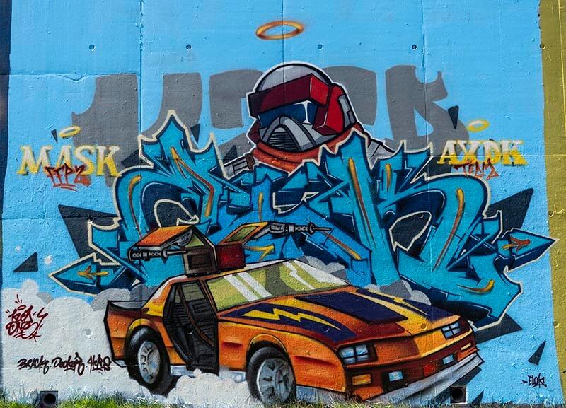 kzed-amiens-graffiti-decoration-kzed-Chevaliers-MASK-Thunderhawk-Matt-Trakker